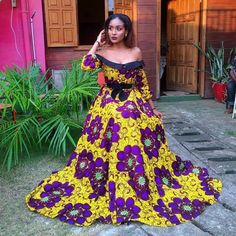 African fashion is available in a wide range of style and design. Whether it is men African fashion or women African fashion, you will notice. Long African Dresses, African Fashion Dresses, African Wear, African Style, African Beauty, African Women, Ankara Styles For Kids, Trendy Ankara Styles, Ankara Gowns