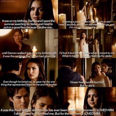 "#TVD 6x02 ""Yellow Ledbetter"" - Elena and Damon"