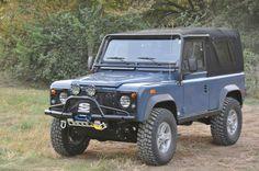 Arles Blue :: 1994 Land Rover Defender 90 - Defender Source