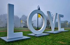 Virginia is for Lovers- The LOVE letters will be coming to Brambleton for the Brambleton Ribbon Run in April and again for the Fall Festival in October! Don't miss the opportunity to come take a picture with these iconic letters! :)