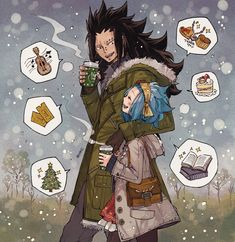 Gajeel Redfox x Levy McGarden / Fairy Tail Gale Fairy Tail, Anime Fairy Tail, Fairy Tail Art, Fairy Tail Ships, Fairy Tales, Fairytail, Gruvia, Gajeel Et Levy, Fairy Tail Images