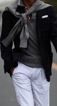 Stylish layers.