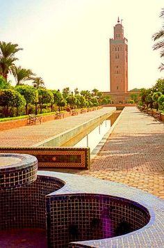 """"""" Koutoubia Mosque, Marrakech (Morocco) """""""