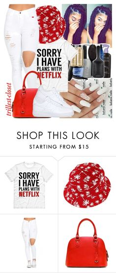 """""""08•09•16"""" by trillest-closet ❤ liked on Polyvore featuring NIKE"""