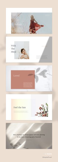 Glory PowerPoint Template is a gorgeous presentation to show your portfolio & ideas. This is the portfolio presentation for every creator, designer, student, Portfolio Design, Portfolio Print, Portfolio Website, Fashion Portfolio Layout, Portfolio Booklet, Graphisches Design, Page Design, Layout Design, Creative Design