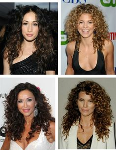 How to Wear Long Curly Hair Natural & Down