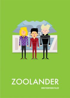 Zoolander    Tribute movie posters | Daily Cool
