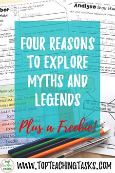 4 Reasons To Explore Myths and Legends Traditional Literature, Traditional Tales, Reading Resources, Reading Activities, Legends For Kids, Origin Of The World, Create A Comic, Legends And Myths, Sixth Grade