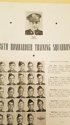 Tech Sgt. Lloyd G. Culbreth my grandfather at Williams AirField