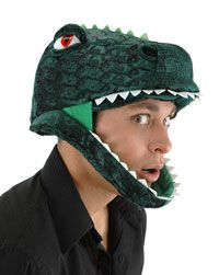 Absolutely Prehistoric| Prehistoric Party| Party Goods: T- Rex Headpiece - Dinosaur Costume Accessories