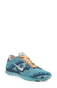 Nike 'Free 5.0 TR Fit 4' Print Training Shoe (Women) | Nordstrom