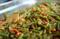 Boontjes sajoer - Sayur Buncis  van Roys Indische Recepten