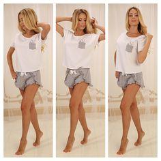 Ожидается поступление новых замечательных моделей женских пижам и ночных сорочек из хлопка от ТМ Violet deLux. Встречайте совсем скоро в интернет-магазине relish.com.ua Home Look, Lingerie, Underwear