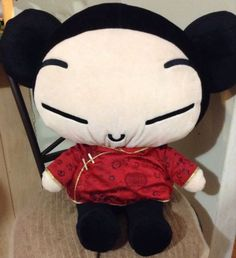 "Pucca Plush Jumbo 16"" RARE Import Version Voozclub Anime Asian Oriental Gift #Pucca #Anime #paypal"