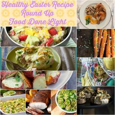 Healthy Easter Recipe Round Up www.fooddonelight.com
