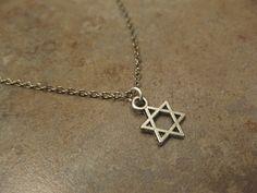 star of David necklace Magen David by NovelaNoveltyNotions on Etsy, $16.95