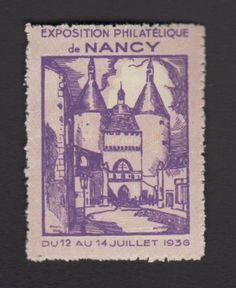 Francia Nancy Exposición De Filatelia