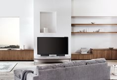 Scandinavian interior style at its best featuring BeoVision Avant!