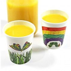 The Very Hungry Caterpillar Cups-The Very Hungry Caterpillar Party Supplies-The Party Company