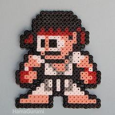 Ryu Street Fighter Hama Beads by Hamagurumi