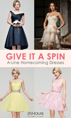 You're probably already picturing the perfect homecoming dress. Now you just need to find it. Chances are, it's at JJ's House. We're all about selection. Choose from a variety of fabrics like lace, chiffon, charmeuse and sequined. Narrow your search by favorite neckline, silhouette or trend. Once you find a dress you love, you'll be able to choose from tons of colors to find the hue that's just right for you.