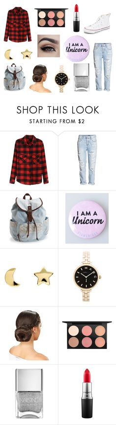 Of course I am a unicorn!!!!!!!!! by rojoubdalia on Polyvore featuring H&M, Converse, Aéropostale, Marc by Marc Jacobs, Erica Weiner and MAC Cosmetics
