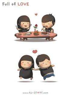 Cheios de amor
