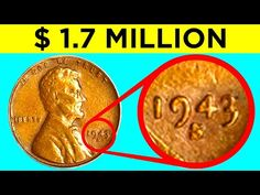 Learn how to spot rare and valuable coins you may have by simply checking in your wallet. Coming up are some rare coins that could make you a fortune! Valuable Pennies, Rare Pennies, Valuable Coins, Coin Collection Value, Silver Coins Worth, 1943 Penny, Rare Coin Values, Penny Values, Old Coins Value