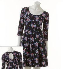 LC Lauren Conrad floral print dress
