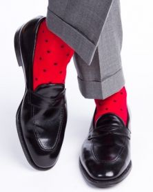 American made dress socks for men. Dapper Classics.