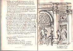 Fontana di Trevi. Nano S-Beato. Cuaderno Roma 2012