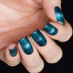Masura- Magnetic Gradient Holographic- Blue Stars 904-196 Available at Beautometry.com