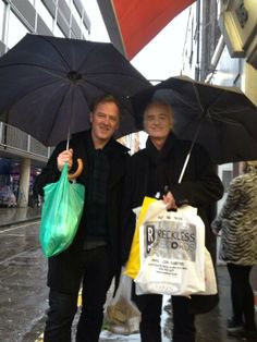 Jimmy Page out record shopping in London this week...