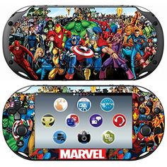 Vanknight Vinyl Decal Skin Stickers Cover for Playstation Vita 2000 PS Vita 2000 PSV 2000 Skin ** For more information, visit image link.Note:It is affiliate link to Amazon.