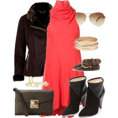 """""""Leather jacket"""" by gelykou on Polyvore Leather Jacket, Shoe Bag, Polyvore, Jackets, Stuff To Buy, Shopping, Collection, Design, Women"""