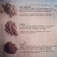 Ingredientes cosmética natural