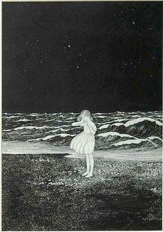 En una noche oscura y llena de miedos con una avalancha de olas aterradoras perdida sin saber donde encontrar el camino, halle un cielo iluminado, un susurro tierno y las suaves corrientes de olas mojando mis pies. Siempre la misma historia tendra dos versiones en el paso de tu vida.