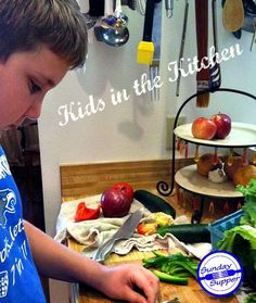 Kids are in the Kitchen this week for #SundaySupper Join us!