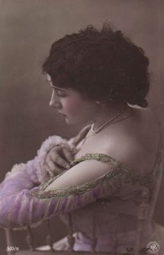 Lady Had Nodded Off Right In The Middle Of Her Dance Recital Antique Postcard   Collectibles, Postcards, People   eBay!