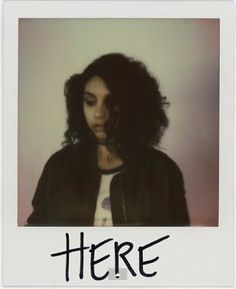 #RnB music for the people who is not into the typical party scene- ALESSIA #Here