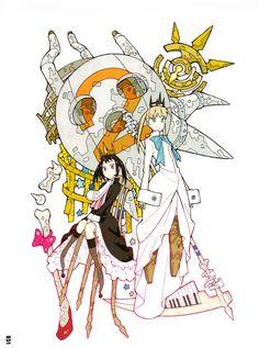 Soul Eater SOUL ART 2 by Atsushi Ohkubo Art Book - Anime Books