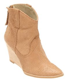 This Natural Liberation Leather Boot is perfect! #zulilyfinds