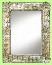 Gorgeous Shell mirror.  Can I do this?Item image