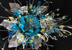 Ramo para quinceañera/ wedding  bouquet turquoise by WEDDINGLASSOS, $220.00