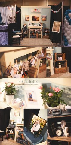wedding show booth, trade show booth, wedding show, photo display, sample album