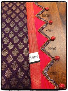 Saree Tassels Designs, Saree Kuchu Designs, Blouse Designs, Lace Saree, Saree Dress, Silk Sarees, Siri, English Vocabulary, Sleeve Designs