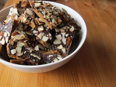 Chocolate AlmondToffee