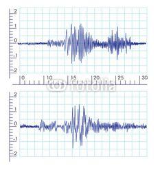 Vector: Vector Seismic Wave graphics