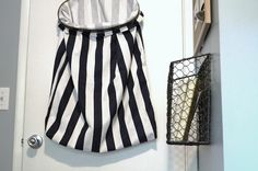 Don't Disturb This Groove: Embroidery Hoop- Laundry Hamper