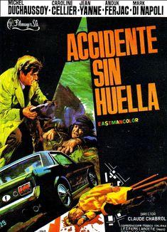 ACCIDENTE SIN HUELLA - Que la bête meure - 1969 - Claude Chabrol. Cartel español